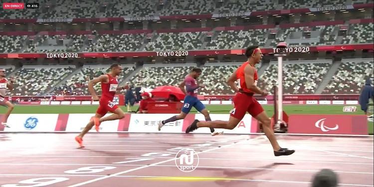 رؤي الجبابلي يحرز برونزية نهائي سباق 400 متر