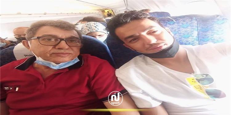 إلياس الجلاصي يشد الرحال الى القاهرة تمهيدًا لانضمامه إلى المصري
