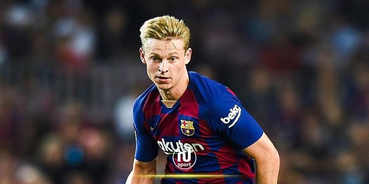 برشلونة يعلن إصابة لاعبه دي يونغ