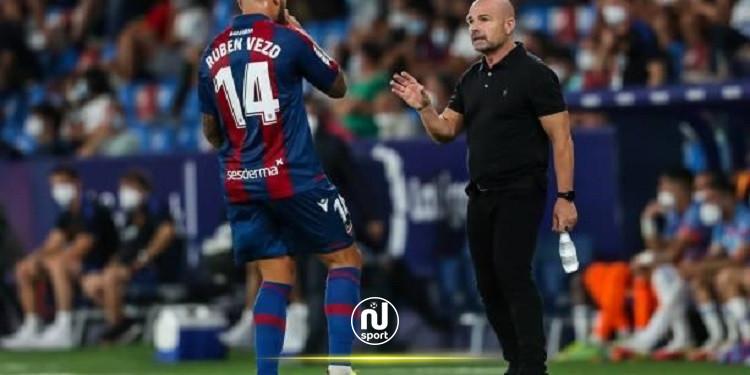 ليفانتي المتعثر يعين المدرب بيريرا