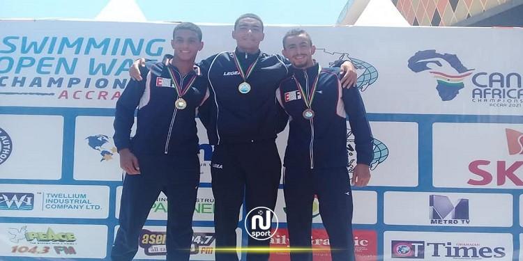 البطولة الافريقية للسباحة: ذهبية ثالثة لخليل بن عجمية