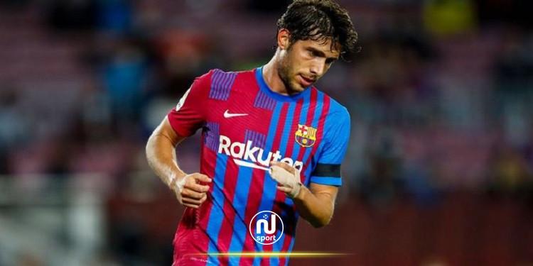 مفاوضات تجديد عقد سيرجي روبيرتو مع برشلونة تصل لطريق مسدود
