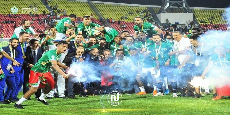 لسعد جردة يفقد السيطرة على لاعبي الرجاء المغربي!