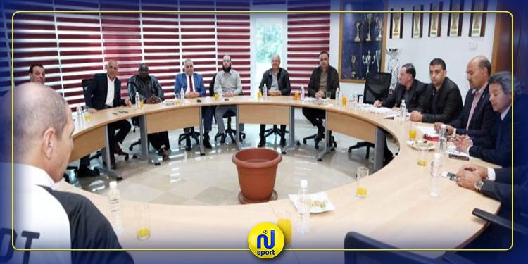 ''الجريء'' يلتقي بالمديرين الفنيين للاتحادات الوطنية الاعضاء باتحاد شمال إفريقيا
