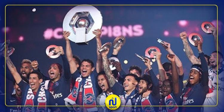 إثر الإعلان على إنهاء الموسم: الترتيب النهائي للدوري الفرنسي