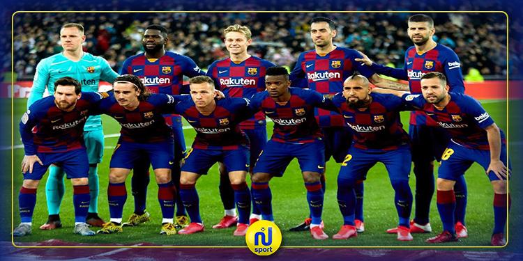الليغا: 4 لاعبين يتصدرون القائمة السوداء في برشلونة