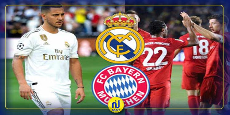 بايرن يزيح ريال مدريد من صدارة التصنيف الاوروبي