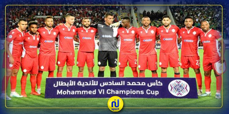 الدوري المغربي: شفاء 6 لاعبين في صفوف الوداد البيضاوي من فيروس كورونا
