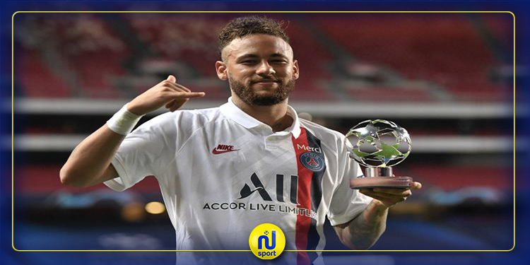 أبطال أوروبا : نيمار دا سيلفا أفضل لاعب في مباريات الدور ربع النهائي