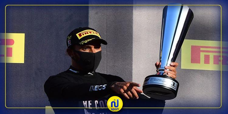هاميلتون يحقق فوزه 90 في 'فورمولا 1' بعد توقف سباق 'توسكان' مرتين