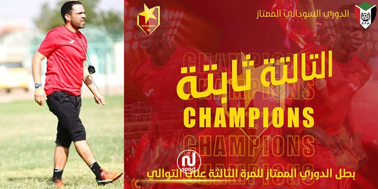 خشارم يقود المريخ السوداني إلى التتويج بلقب البطولة للعام الـ3 على التوالي