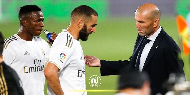ريال مدريد: زيدان يقلل من شأن الخلاف المزعوم بين بنزيمة وفينيسيوس