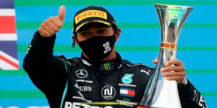 سباق السيارات: هاميلتون يعادل الرقم القياسي لشوماخر بالفوز رقم 91