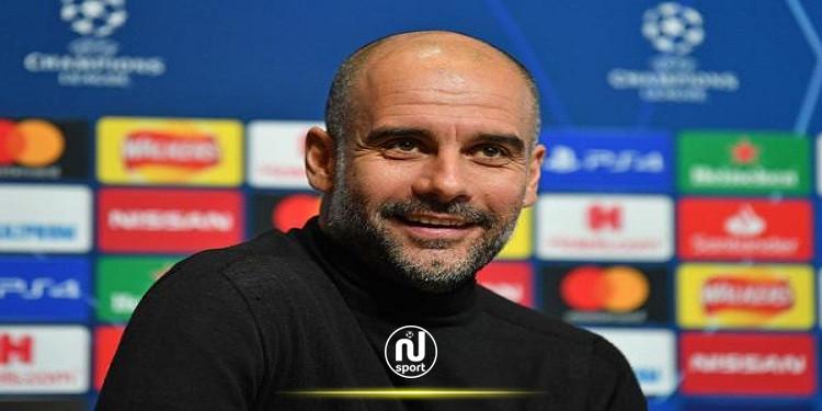 وسط تكهنات عن عودته لبرشلونة: جوارديولا 'سعيد' في مانشستر سيتي