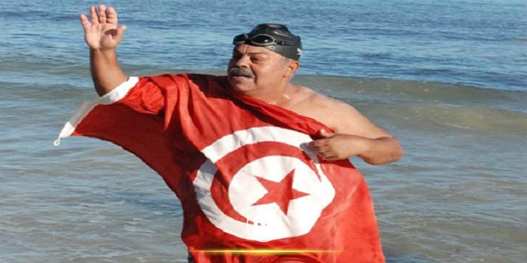 السباح نجيب بلهادي يراهن على قطع مسافة 155 كلم سباحة حول جزيرة جربة