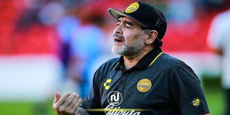 بعد مخالطته أحد المصابين بـ'كورونا': مارادونا في الحجر الصحي