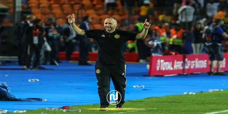 مدرب منتخب الجزائر جمال بلماضي يصاب بفيروس كورونا