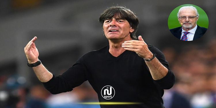 بيكنباور يؤيد استمرار المدرب لوف على رأس المنتخب الالماني