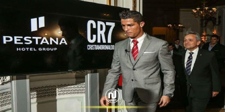 كريستيانو رونالدو يقترب من إفتتاح فندقه الجديد في مدينة مانشستر