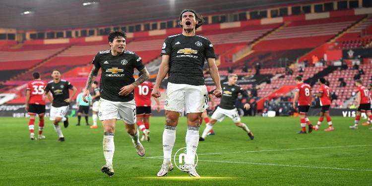 البريمرليغ: كافاني يقود مانشستر يونايتد للإنتصار أمام ساوثهامبتون