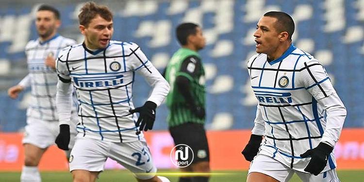 الكالتشيو: إنتر ميلان يفوز بثلاثية وينهي سجل ساسولو الخالي من الهزيمة