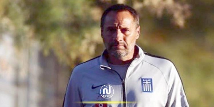 إصابة مدرب منتخب اليونان لكرة القدم بكورونا
