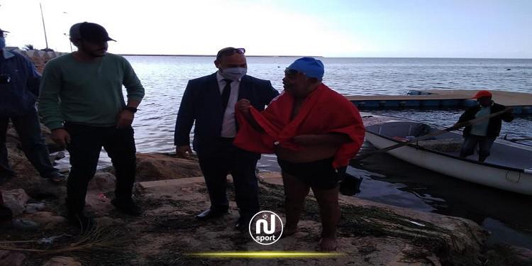 السباح العالمي 'نجيب بلهادي' يترشح للقب رجل السنة في العالم
