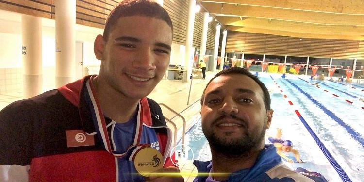 سباحة: التونسي 'أيّوب الحفناوي' يتوج ببطولة فرنسا