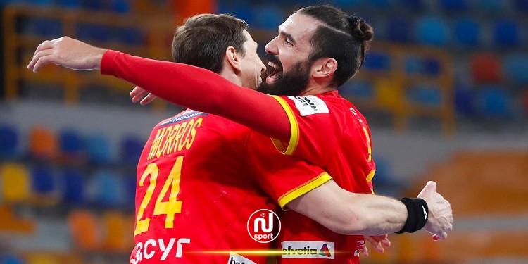 كرة اليد: إسبانيا تفوز على المجر وتتصدر مجموعتها بالمونديال