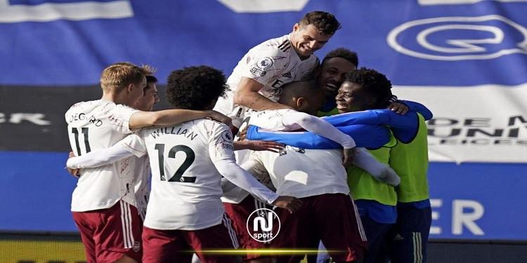 البريمرليغ: أرسنال ينعش آماله الأوروبية بالفوز على ليستر
