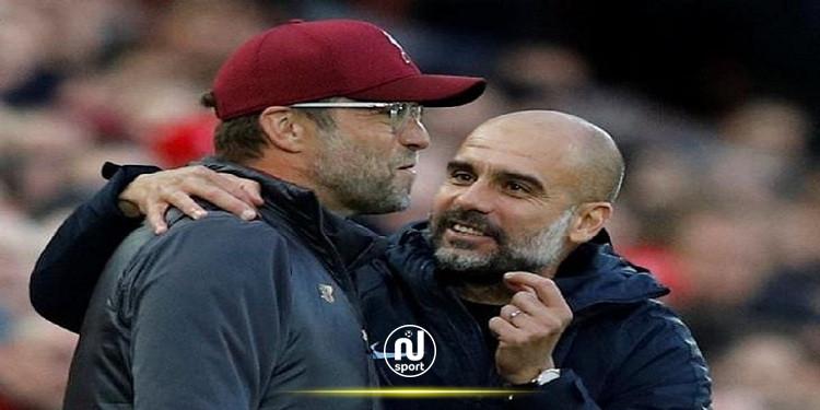 جوارديولا يساند كلوب ''الاستثنائي'' لإعادة ليفربول إلى مستواه