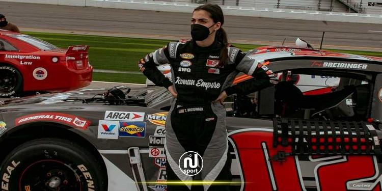 توني بريدينغر .. أول سائقة عربية أميركية تشارك في سباقات فلوريدا