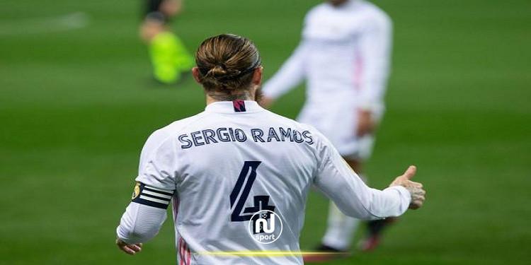 الليغا: راموس يغيب 10 أسابيع عن النادي الملكي
