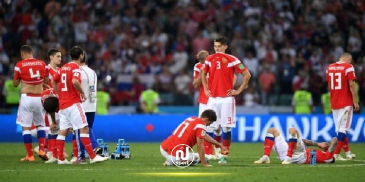الفيفا تحقق مع ثلاثة لاعبين روس بسبب المنشطات