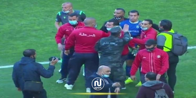 كمال بن خليل : أيمن دحمان هو سبب المناوشات في آخر المباراة