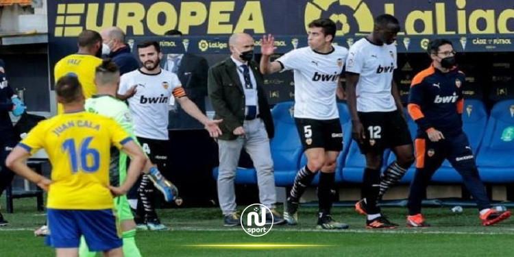 رابطة البطولة الإسبانية : لا دليل على إساءة عنصرية من كالا لاعب قادش