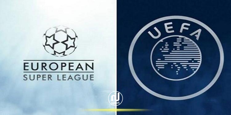 رئيس الاتحاد الأوروبي لكرة القدم يحذر الأندية المتمردة من ''العواقب''