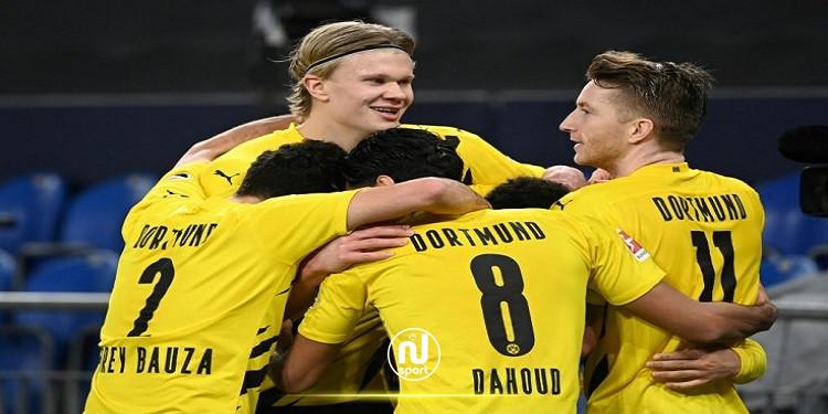 دورتموند يحبط أحلام برشلونة وريال مدريد في التعاقد مع إيرلينغ هالاند