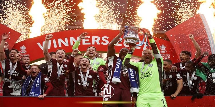 ليستر سيتي يحرز لقب كأس الاتحاد الإنقليزي