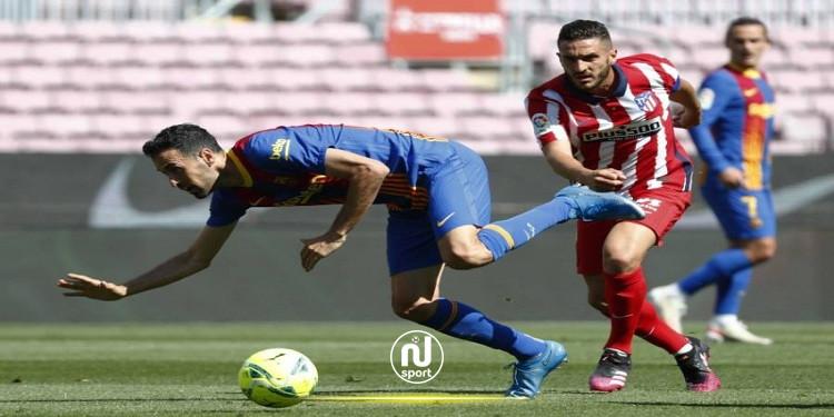 الليغا: نادي برشلونة يعلن إصابة لاعبه بوسكيتس