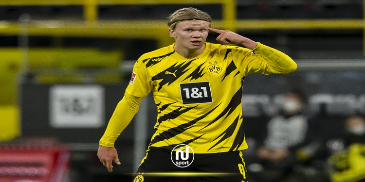 هالاند يفوز بجائزة جديدة في الدوري الألماني