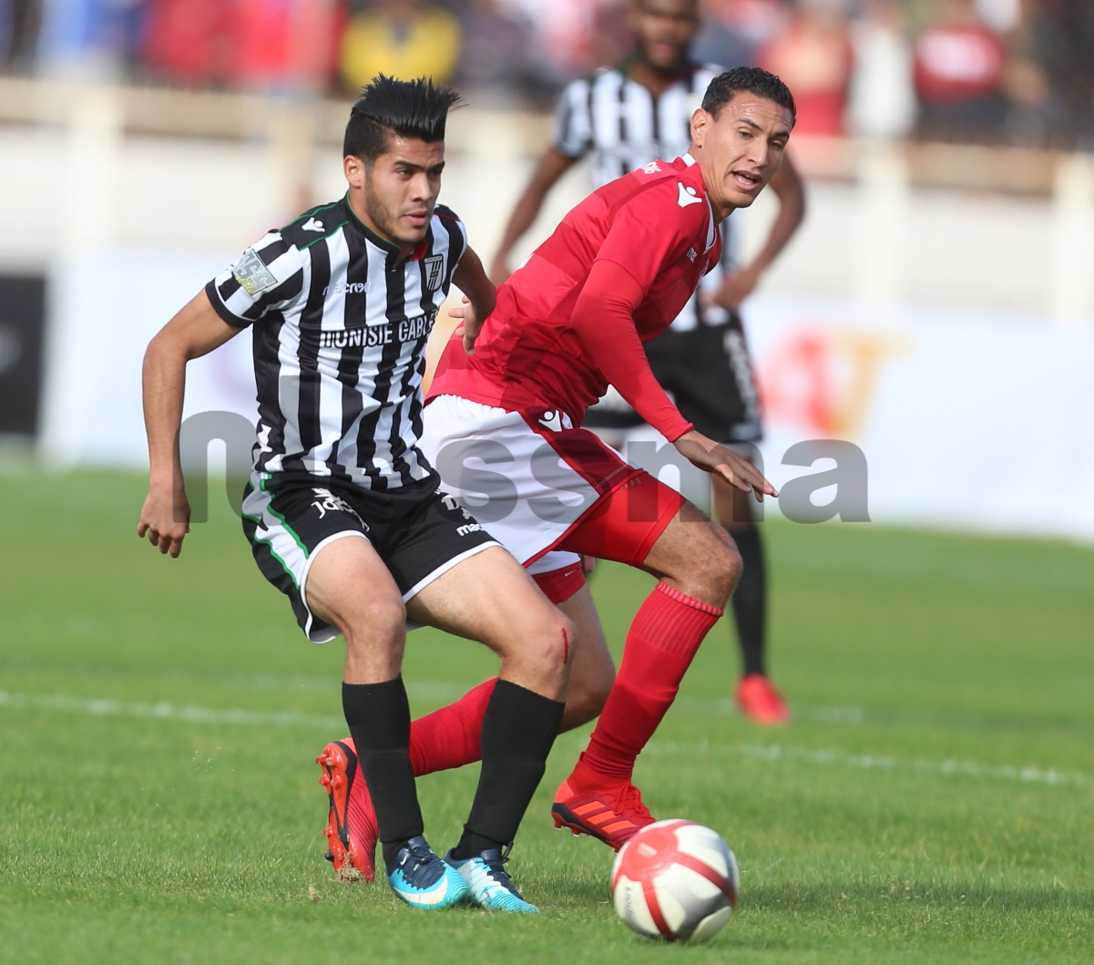 صور الشوط الأول من مباراة النجم الساحلي و النادي الصفاقسي