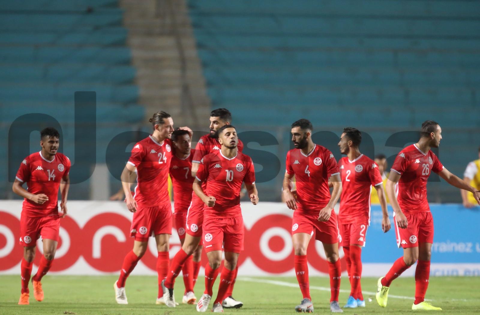صور الشوط الثاني لمواجهة المنتخب الوطني التونسي ونظيره الموريتاني