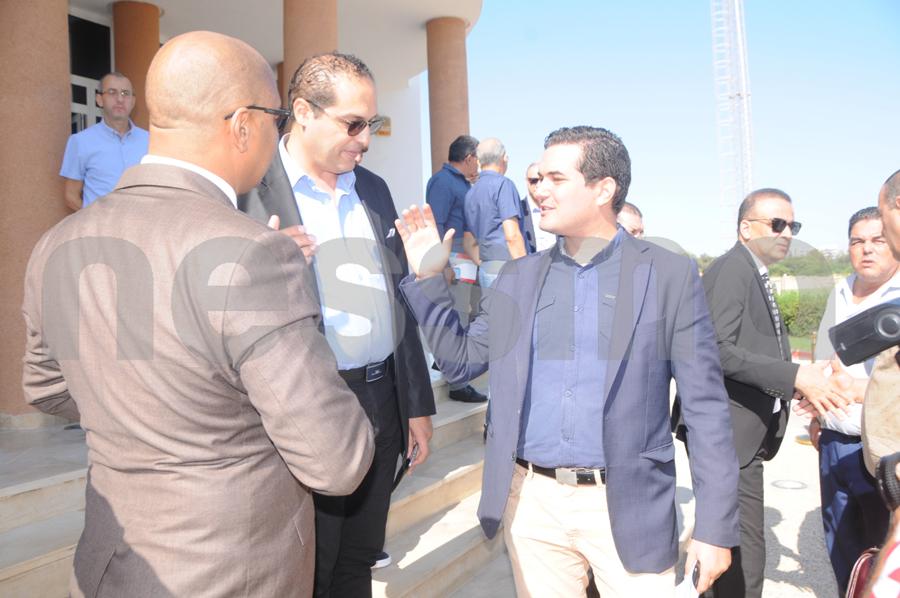 إجتماع الجامعة برؤساء الإفريقي : البلطي حمودية والعلمي أبرز الحاضرين