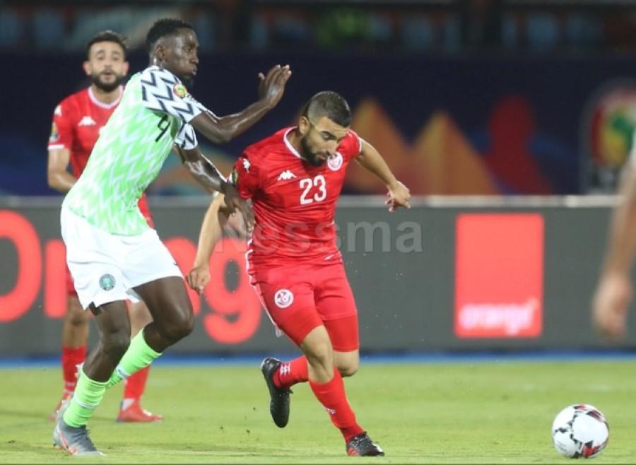 صور الشوط الثاني من مباراة المنتخب التوسي والمنتخب النيجيري