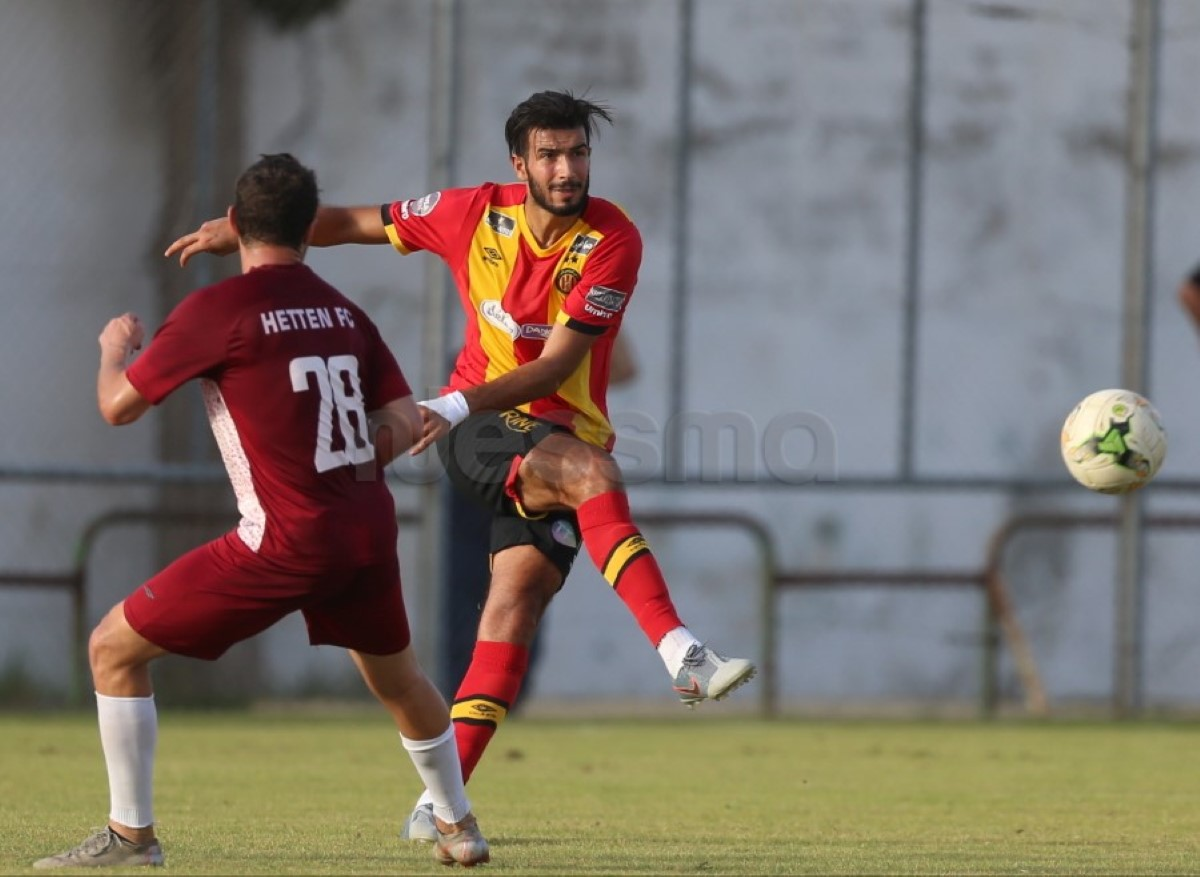 صور المباراة الودية بين الترجي الرياضي التونسي ونادي حطين السعودي