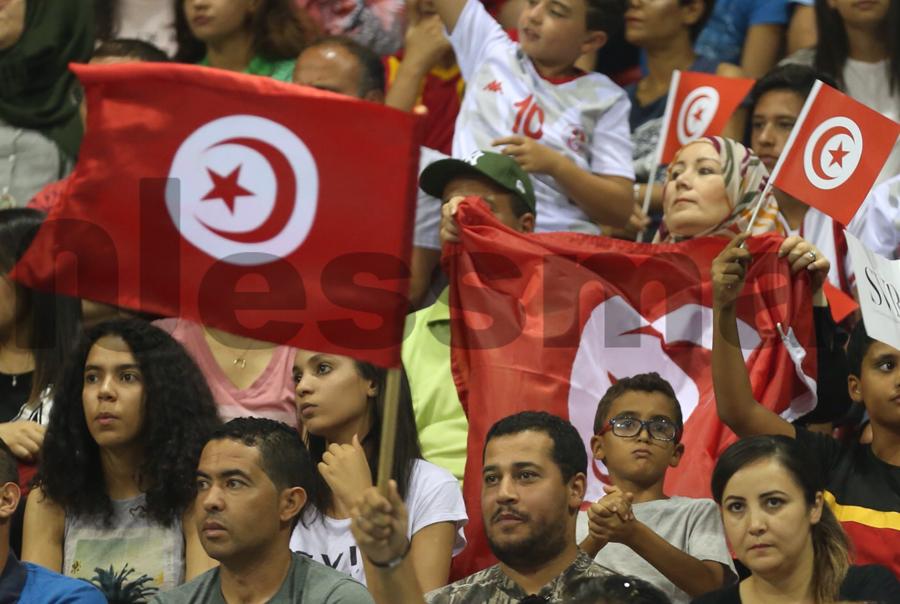 صور مباراة نهائي كأس أمم إفريقيا للكرة الطائرة بين تونس والكاميرون