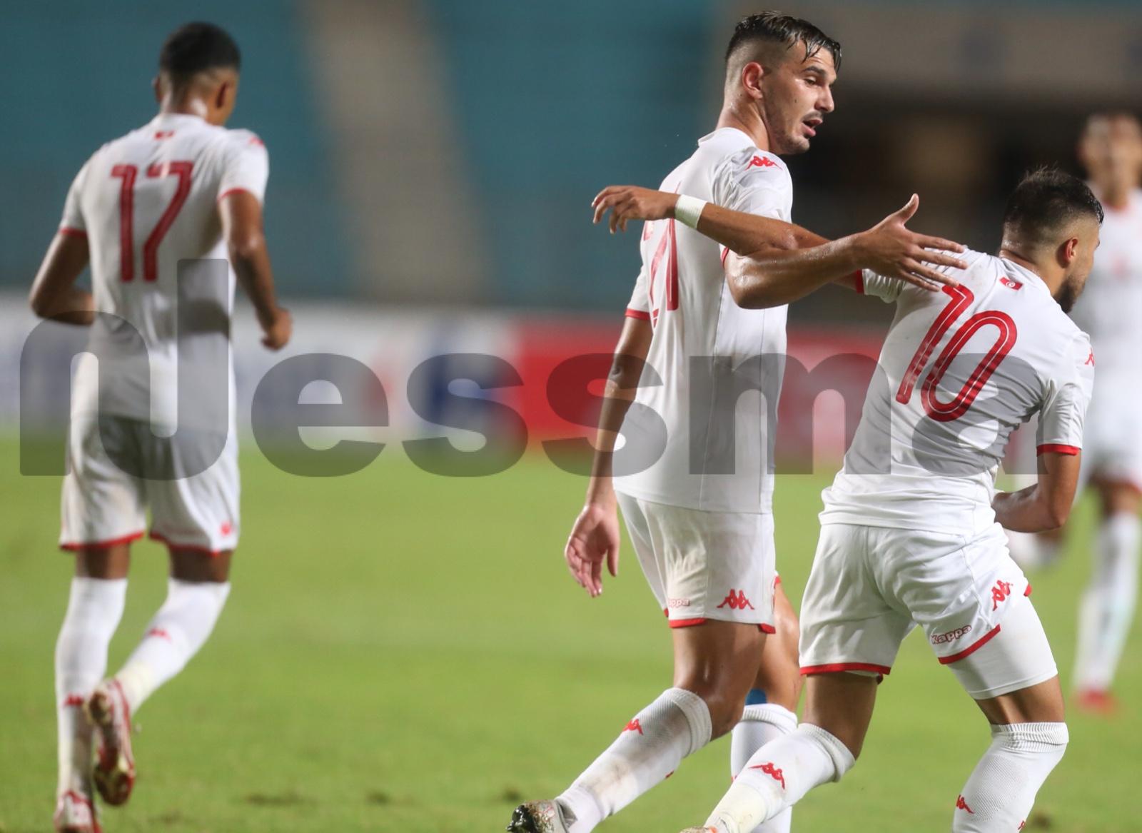 صور الشوط الثاني من لقاء المنتخب الأولمبي التونسي ونظيره الكامروني
