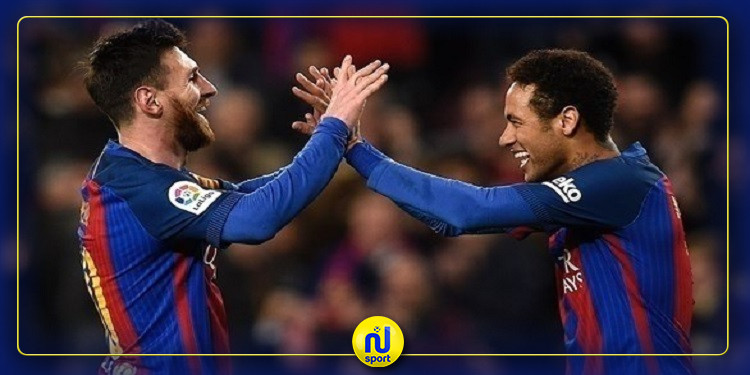 ميسي يضغط على إدارة برشلونة لإعادة نيمار