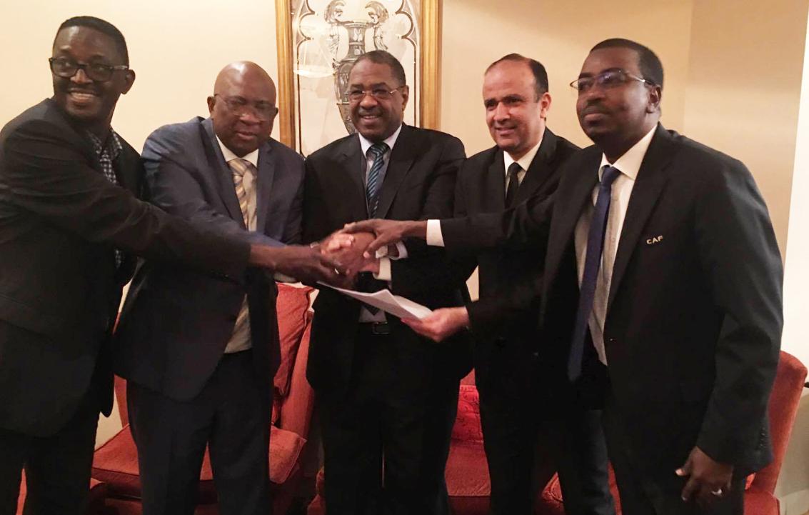 تعيين وديع الجريء نائبا لرئيس الاتحادات الوطنية الإفريقية لكرة القدم